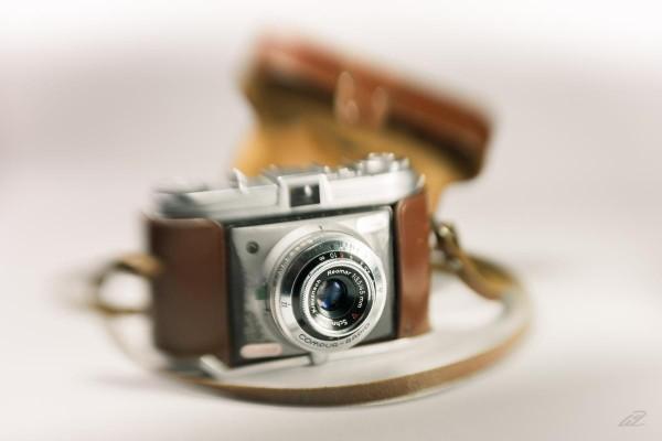 Fotografiert mit Lensbaby, schwarz-weiß